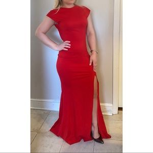 Jovani Gown Open Back Size 2